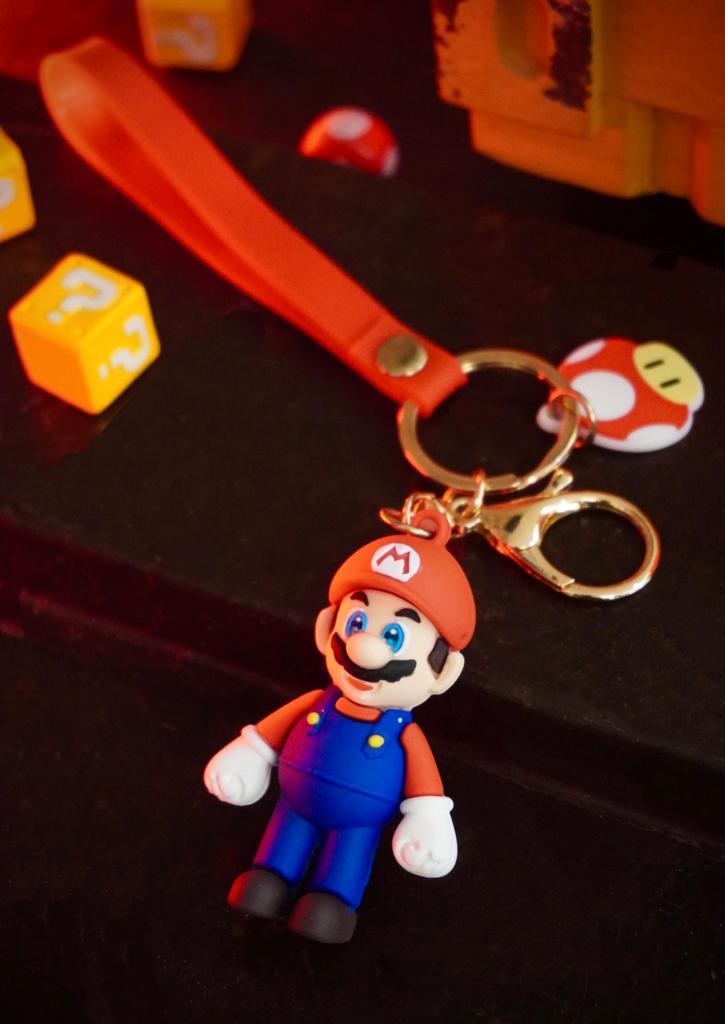 Chaveiro Mario: Super Mario Bros - MKP