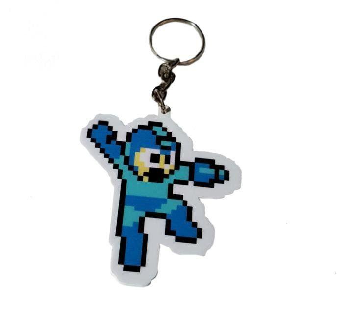 Chaveiro Mega Man - Fábrica Geek