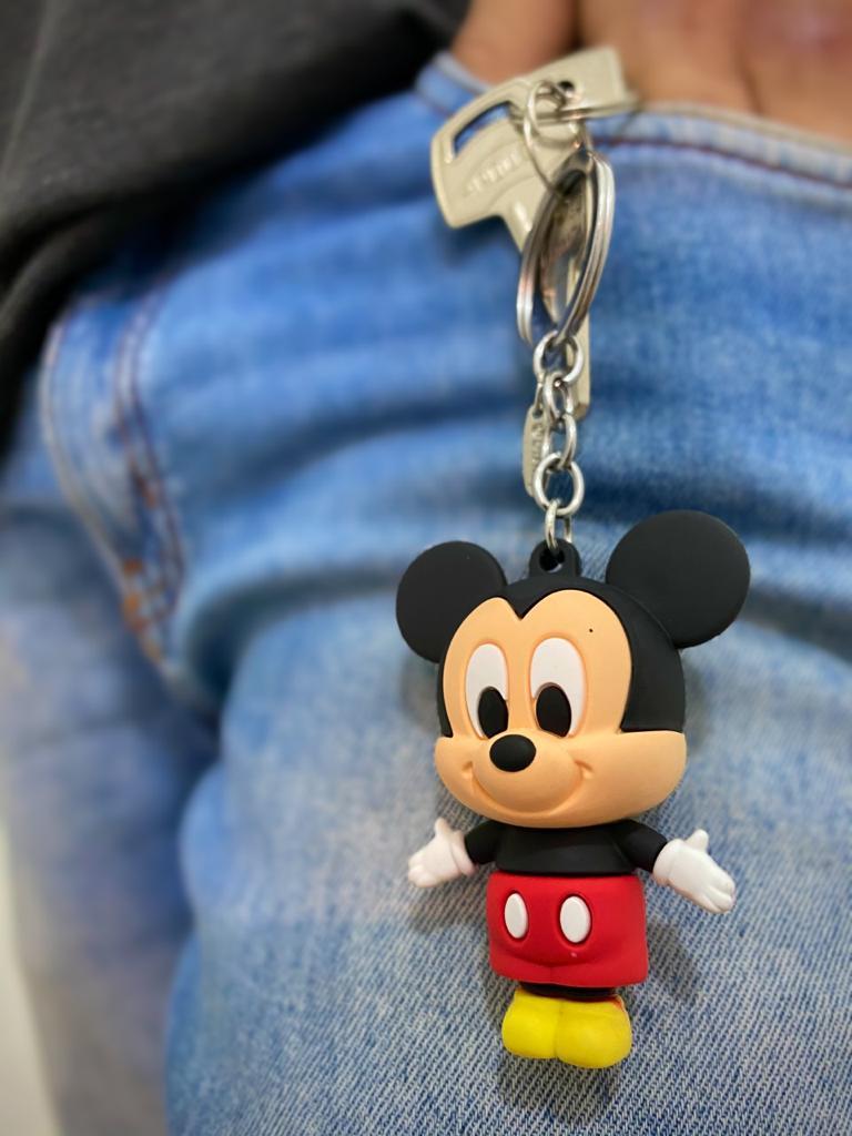 Chaveiro Mickey: Mickey e Minnie Mouse - Disney