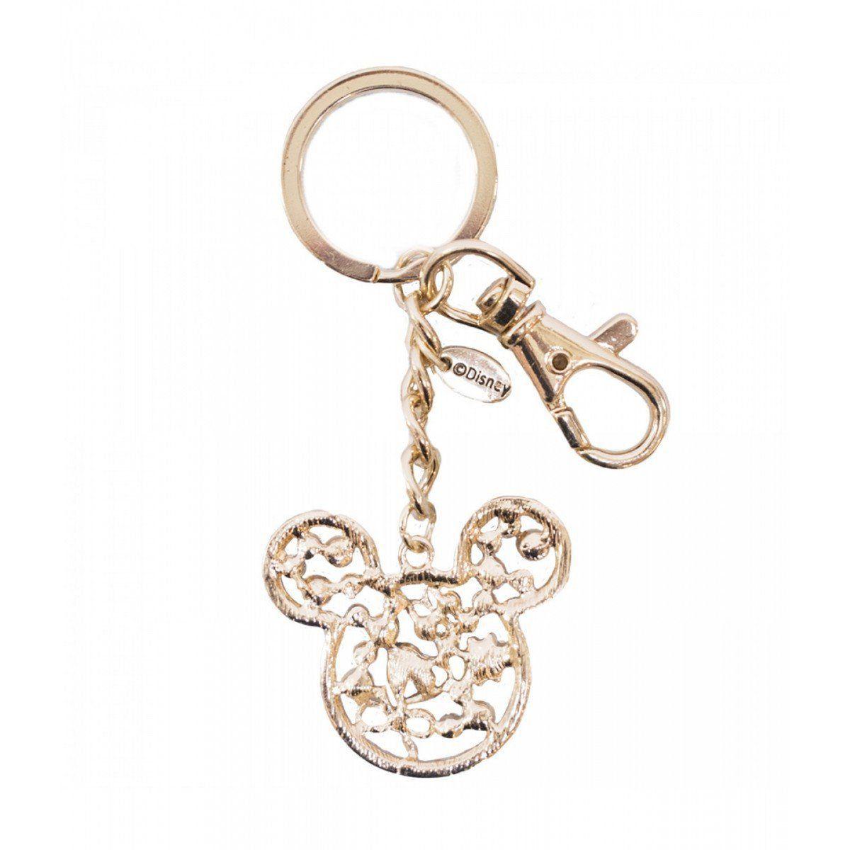Chaveiro Mickey Dourado - Disney