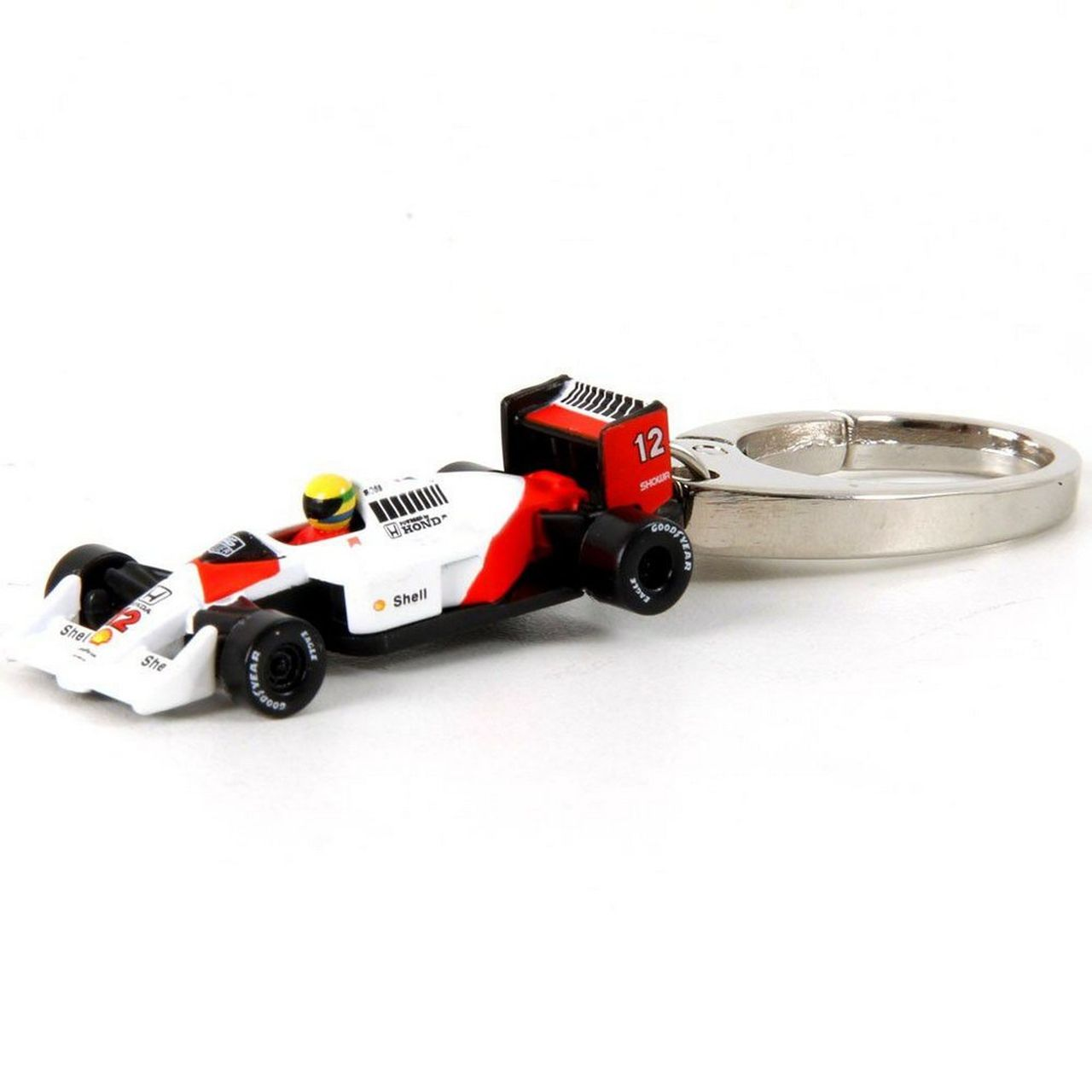 Chaveiro Miniatura McLaren (Ayrton Senna): Formula 1  - Premium Collectibles