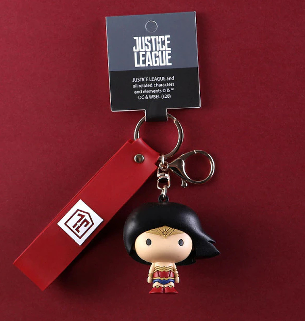 Chaveiro Mulher Maravilha Wonder Woman: Liga da Justiça Justice League DC Comics - EVALI