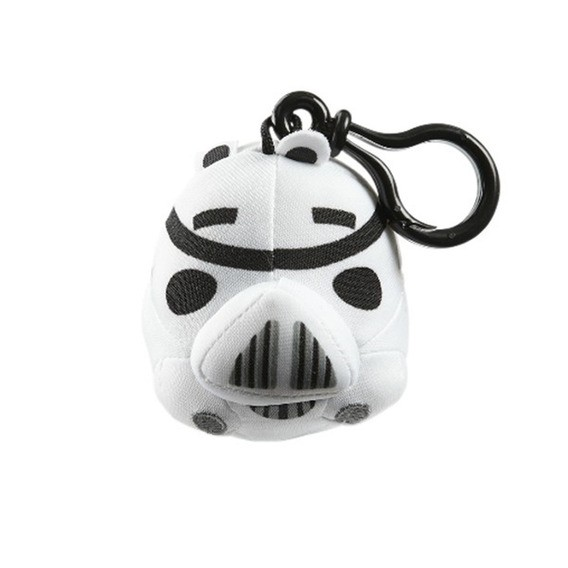 Chaveiro Pelucia Backpack Clip (Stormtrooper): Angry Birds Star Wars -  DTC