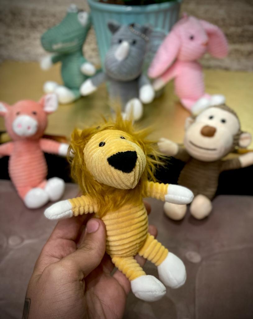 Chaveiro Pelucia Safari: Leão