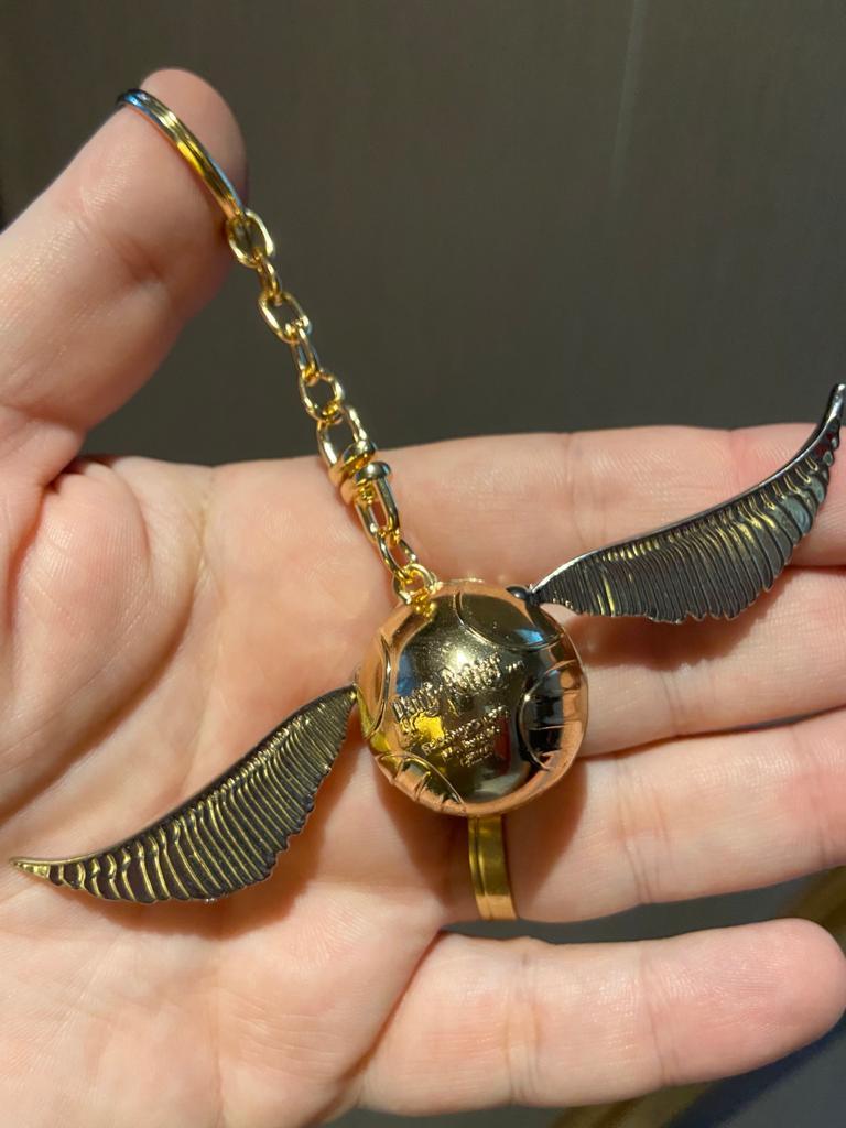 Chaveiro Pomo de Ouro: Harry Potter (11cm)