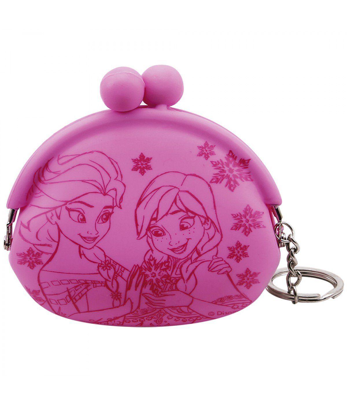 Chaveiro Porta Moeda Anna & Elsa: Frozen (Disney)