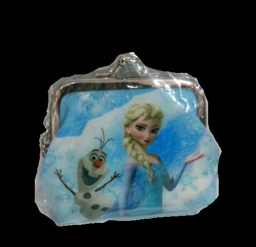 Chaveiro Porta Moeda Elsa e Olaf - Disney