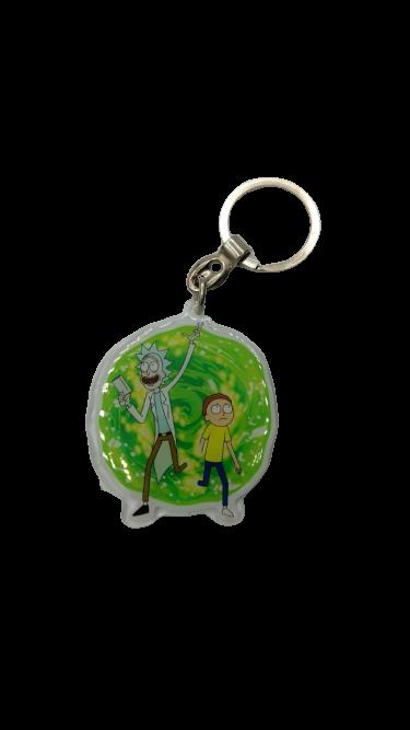 Chaveiro Rick e Morty: Rick and Morty