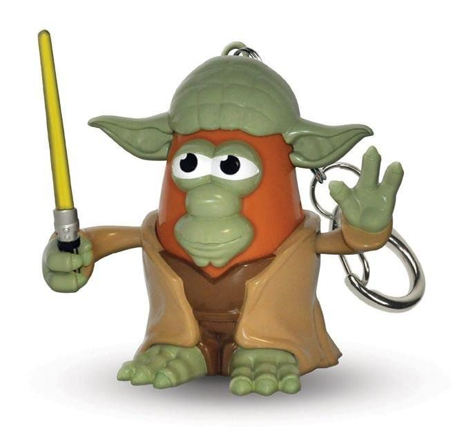 Chaveiro Star Wars Yoda Mr. Potato Head - PPW Toys