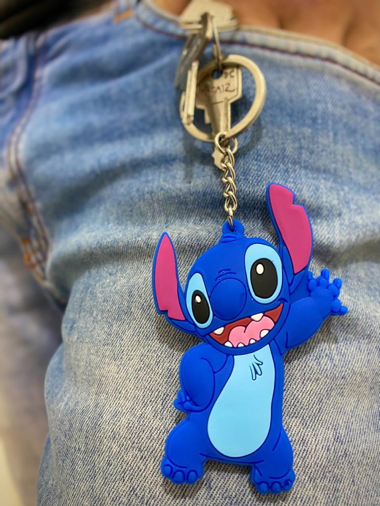 Chaveiro Stitch: Lilo e Stitch