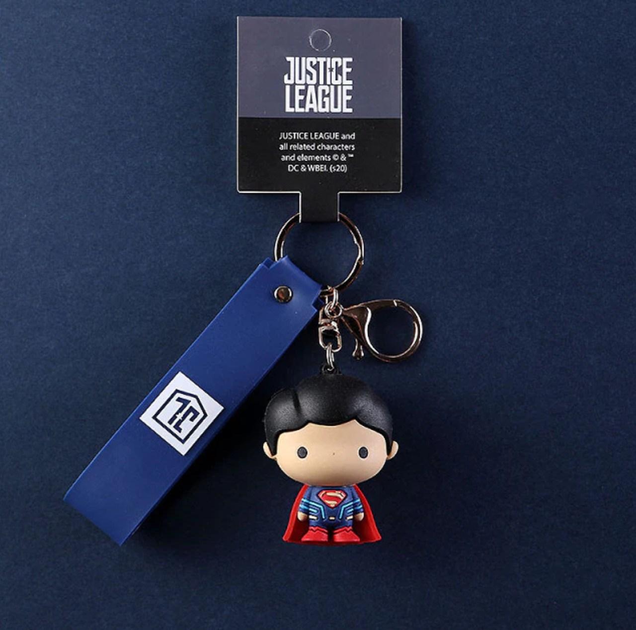 Chaveiro Super Homem Superman: Liga da Justiça Justice League DC Comics - EVALI