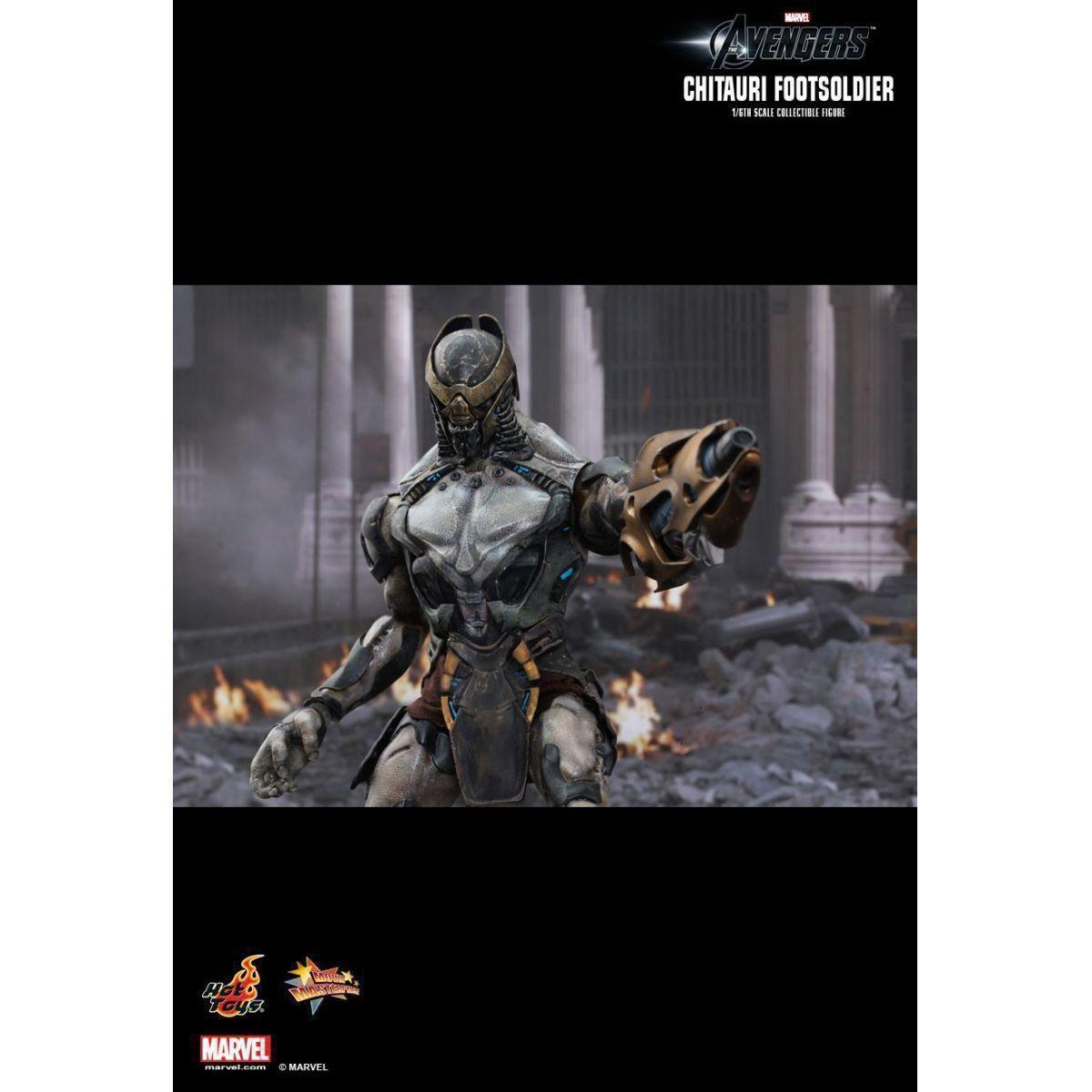 Boneco Chitauri Footsoldier:  Os Vingadores (The Avengers) Movie Masterpiece Escala 1/6 - Hot Toys - CD
