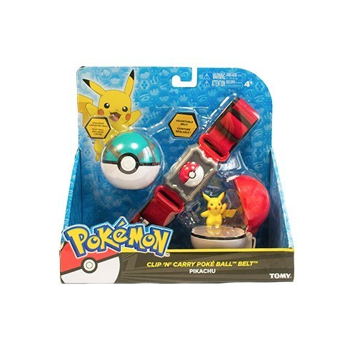 Cinturão com Pokébola (Filet Ball) Pikachu: Pokémon - Sunny