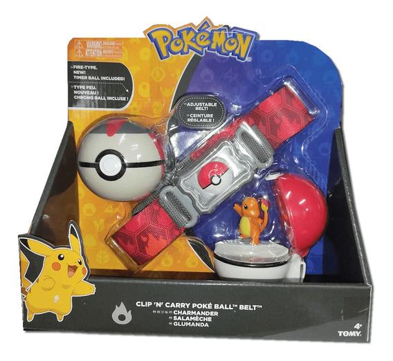 Cinturão com Pokébola (Quick Ball) Charmander: Pokémon - Sunny