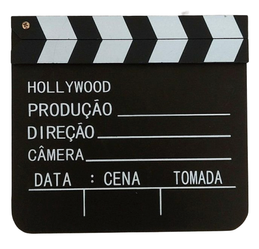 Claquete de Cinema Hollywood (Grande)