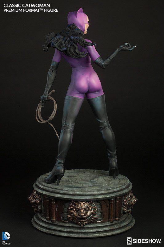Estátua Classic Mulher-Gato (Catwoman) Premium Format Escala 1/4 - Sideshow - CG