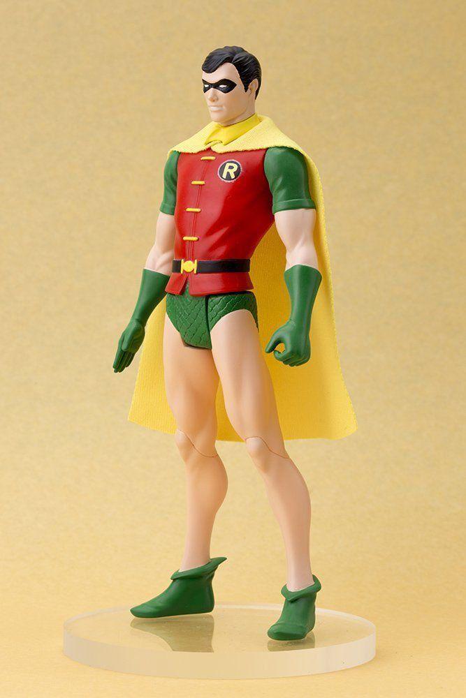 Estátua Robin Clássico: Super Powers ArtFX+Statue Escala 1/10 - Kotobukiya - CD