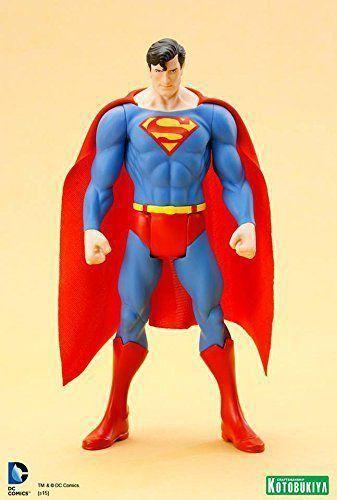 Estátua Superman Clássico: Super Powers ArtFX+Statue Escala 1/10 - Kotobukiya - CD
