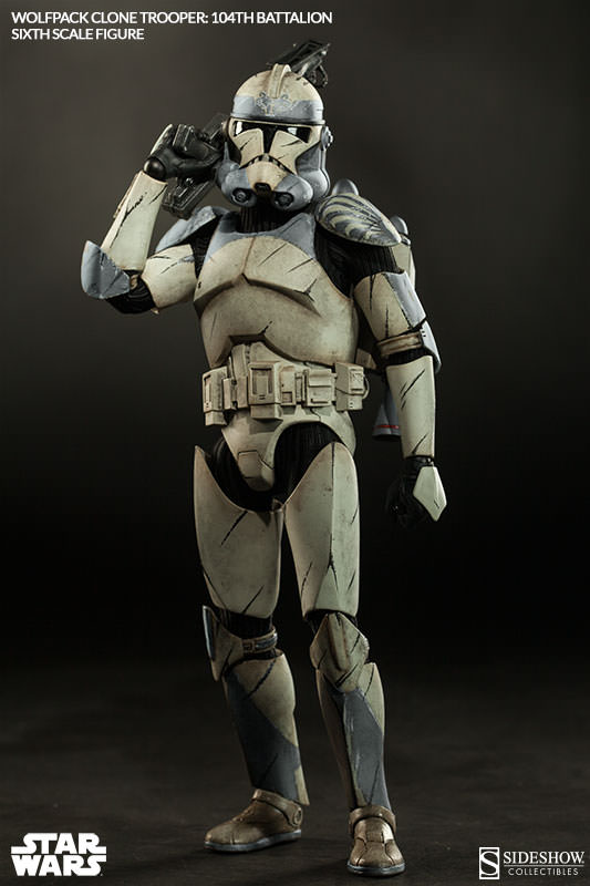 Clone Trooper Wolfpack Star Wars 104Th Escala 1:6 - Sideshow