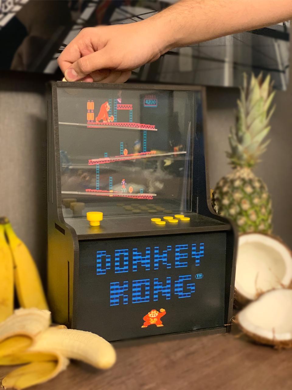 Cofre Arcade (Fliperama): Donkey Kong