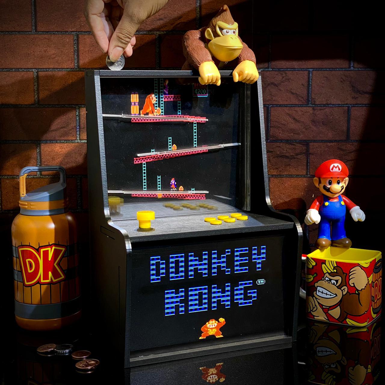 Cofre Arcade (Fliperama): Donkey Kong - EV