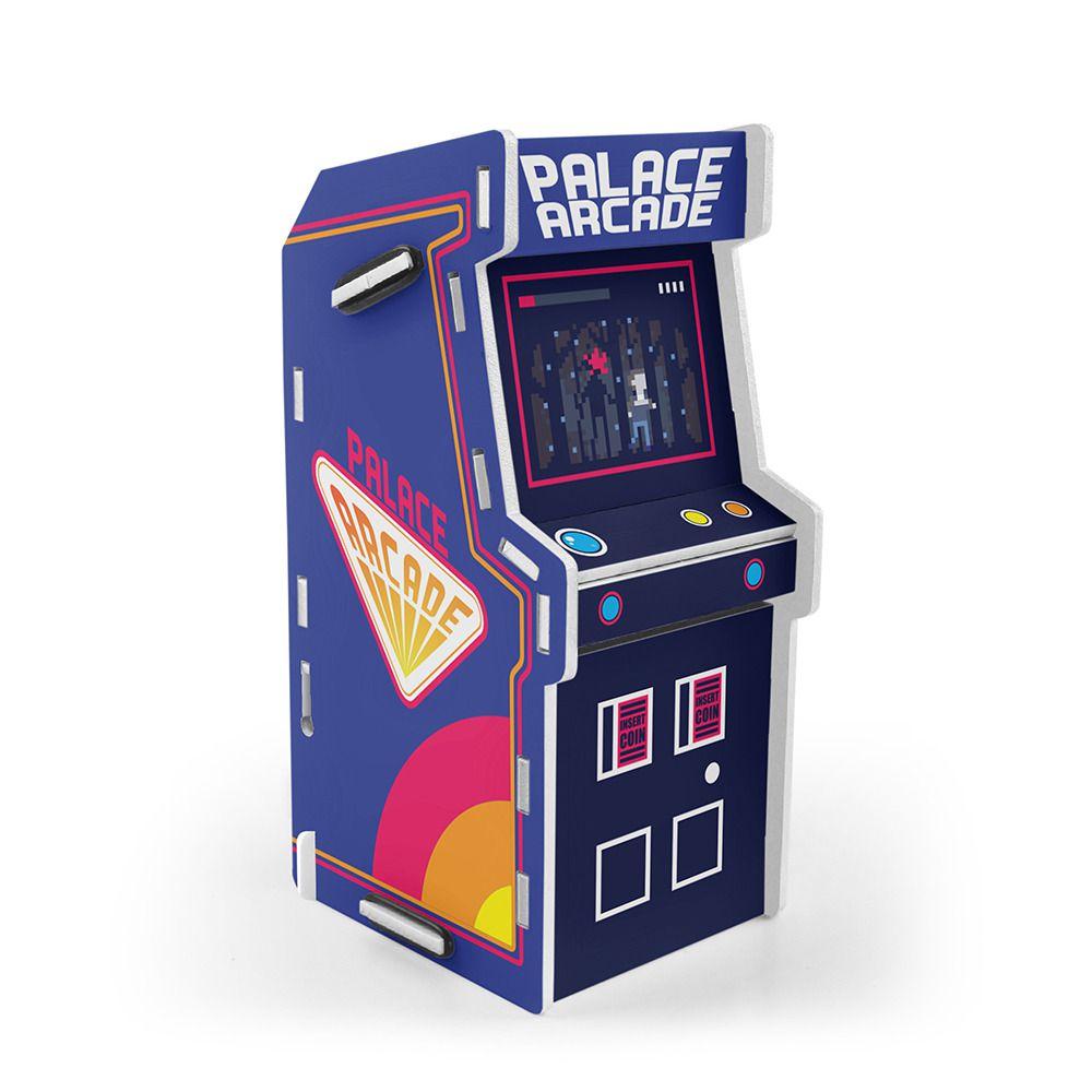 Cofre Arcade (Fliperama): Stranger Things (Azul)
