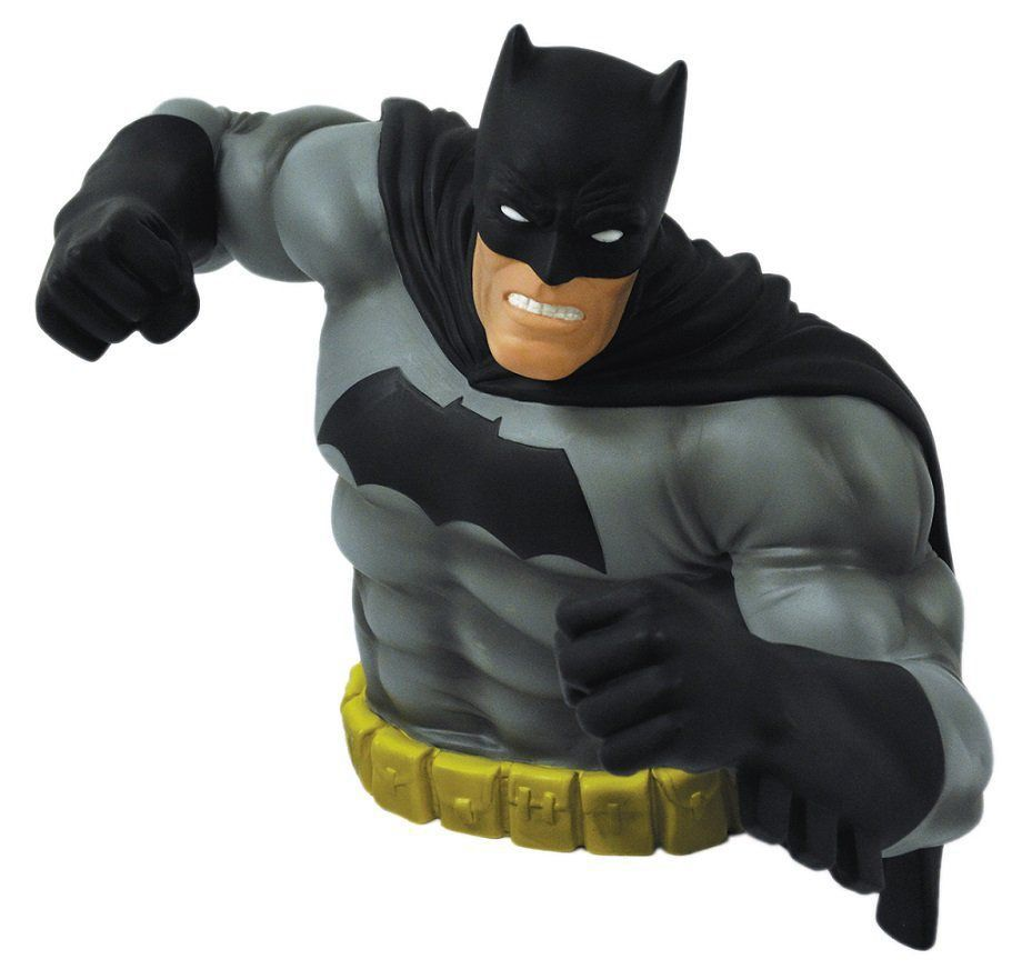 Cofre Busto Batman Dark Knight Returns (Black Version) - Monogram