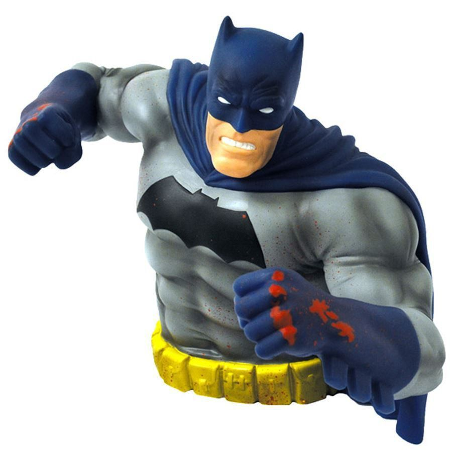 Cofre Batman: Cavaleiro das Trevas (Dark Knight Returns) (Blue Version Bust Exclusivo SDCC 2016) - Monogram