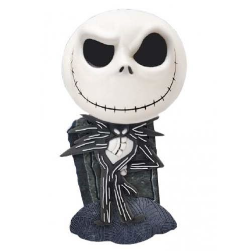 Cofre Cute Jack Skellington: O Estranho Mundo de Jack (The Nightmare Before Christmas) - Monogram (Apenas Venda Online)