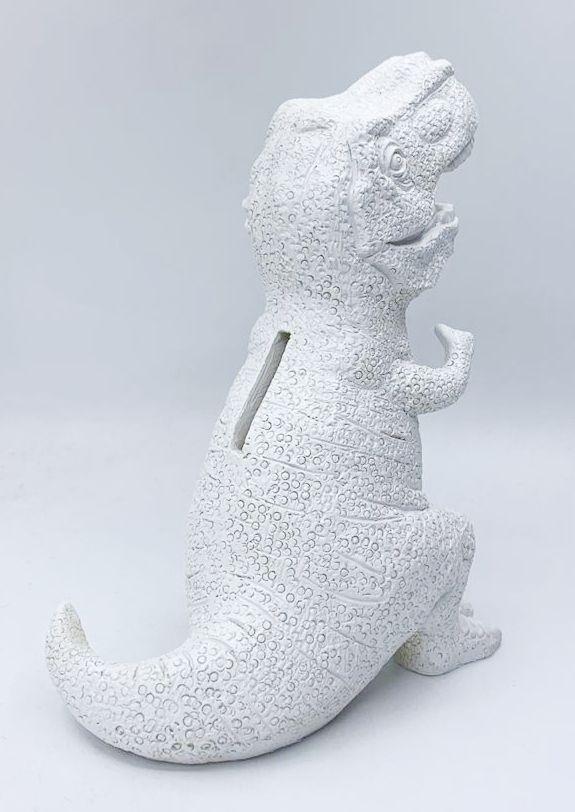 Cofre de Resina T-Rex (Dinossauro) - Branco
