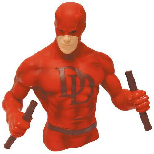 EM BREVE: Cofre Busto Daredevil (Demolidor) Red Version - Monogram
