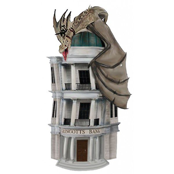 Cofre Gringotts Bank: Harry Potter - Monogram (Apenas Venda Online)