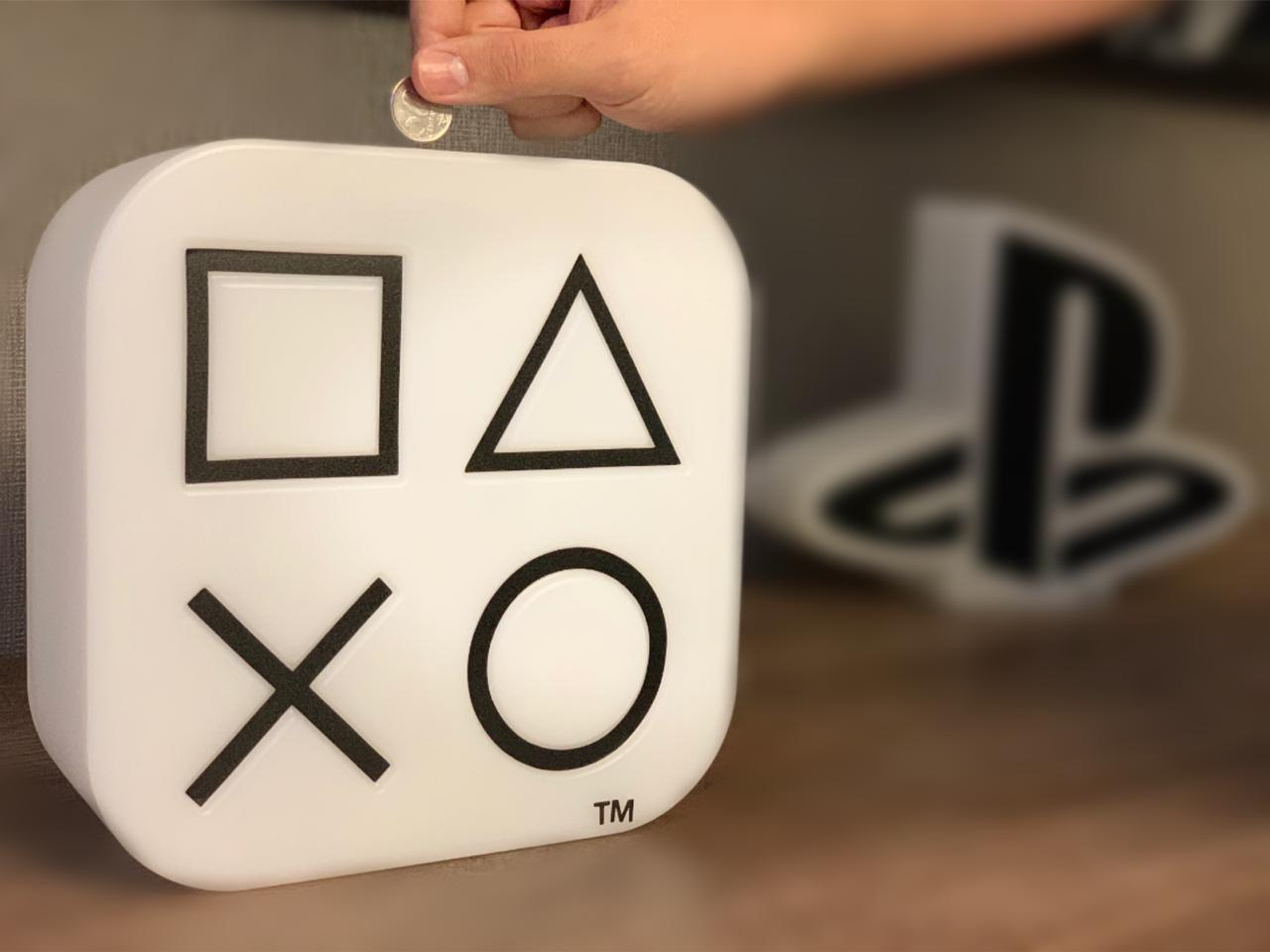 Cofre Ícones: Playstation (Branco)