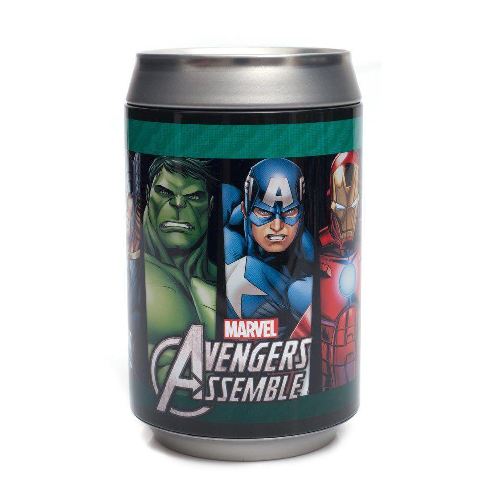 Cofre Lata Avengers e Vllains - Zona Criativa