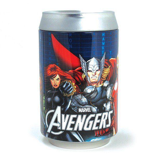 Cofre Lata Avengers - Zona Criativa