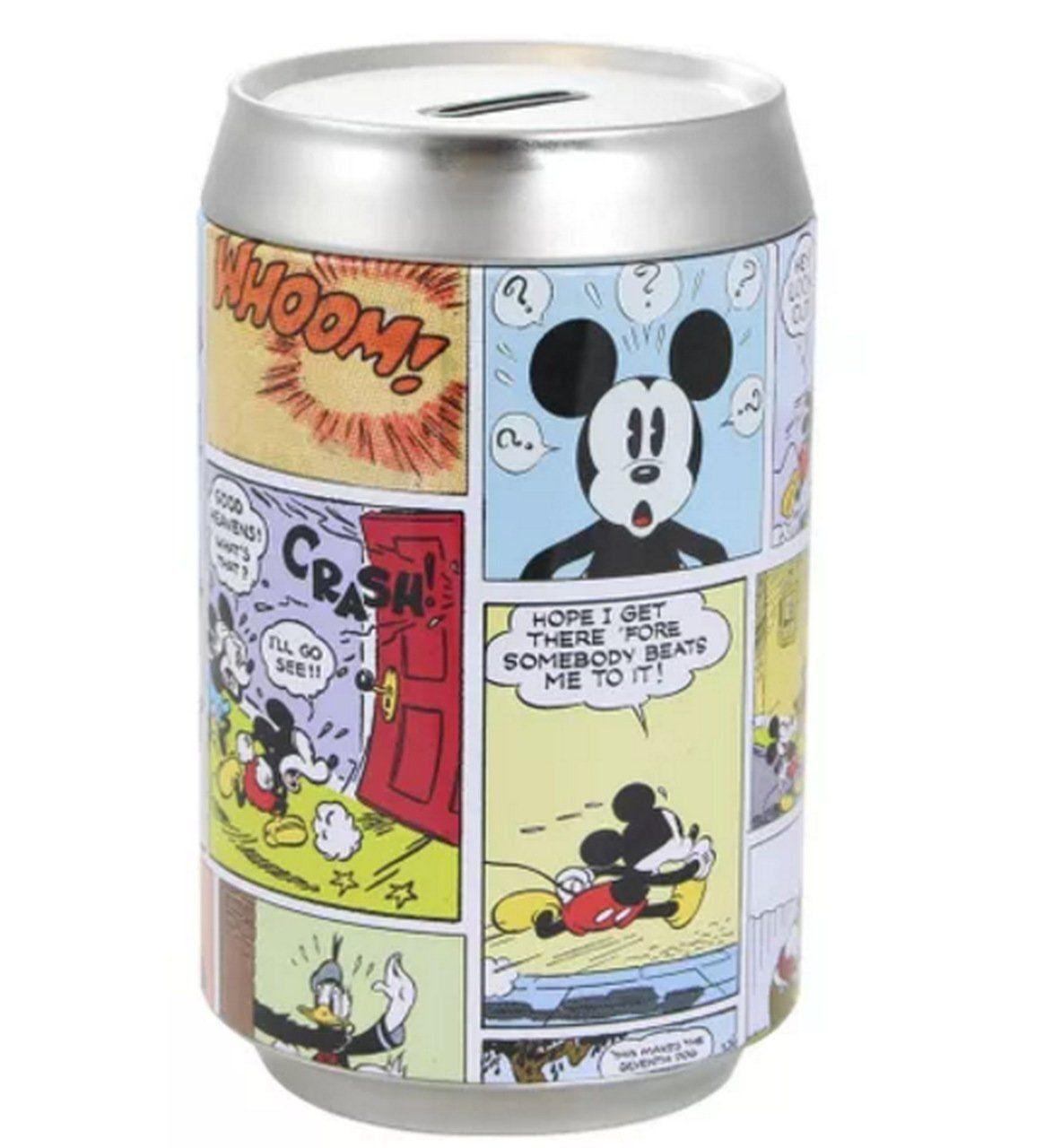 Cofre Lata Mickey Quadrinhos: Disney