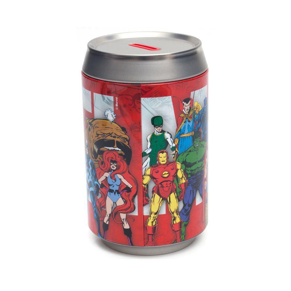 Cofre Lata Turma de Herois Marvel - Zona Criativa