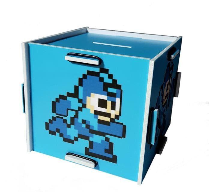 Cofre Mega Man - Fabrica Geek