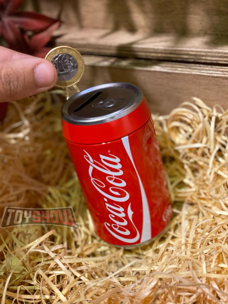 Cofre Metal Round Coca-Cola Classic: Vermelho - Urban