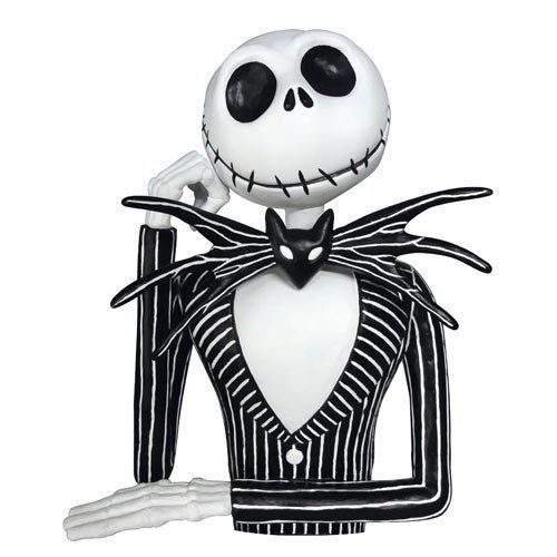 Cofre Jack Skellington: O Estranho Mundo de Jack (Nightmare Before Christmas) - Monogram (Apenas Venda Online)