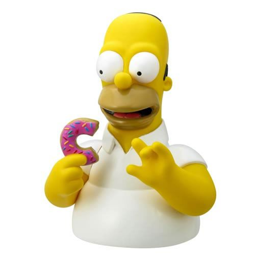 Cofre Homer Simpson: Os Simpsons (The Simpsons) (Homer com Donut) - Monogram (Apenas Venda Online)
