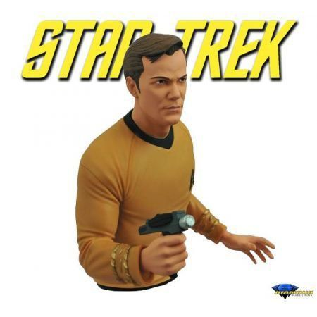 Cofre Star Trek Captain Kirk - Diamond