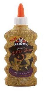 Cola Glitter Para Slime (Dourado) 177ml - Elmers