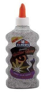 Cola Glitter Para Slime (Prata) 177ml - Elmers