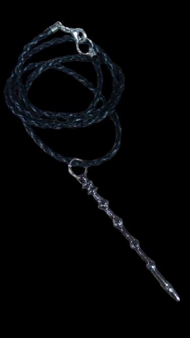 "Colar Varinha do  ""Dumbledore"": Harry Potter"