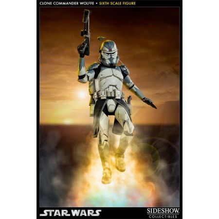 Commander Wolffe Star Wars 1:6 - Sideshow