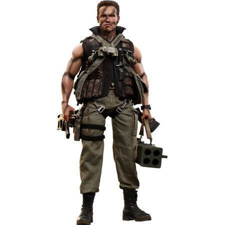 Commando John Matrix Escala 1/6 - Hot Toys