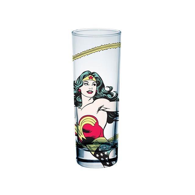 Copos de Vidro Wonder Woman (Mulher Maravilha) - DC Comics