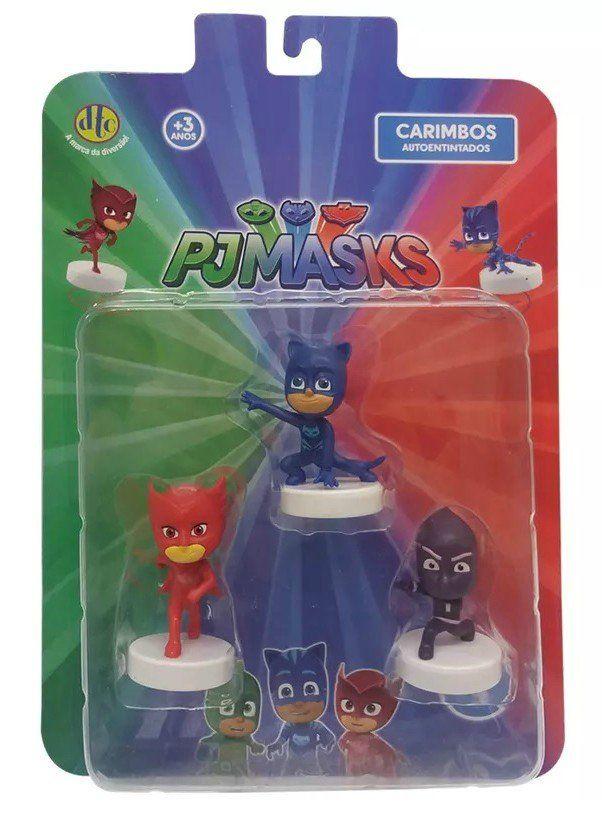 Conjunto de Carimbos (3 Unidades): PJ Masks (Pack 9) - DTC