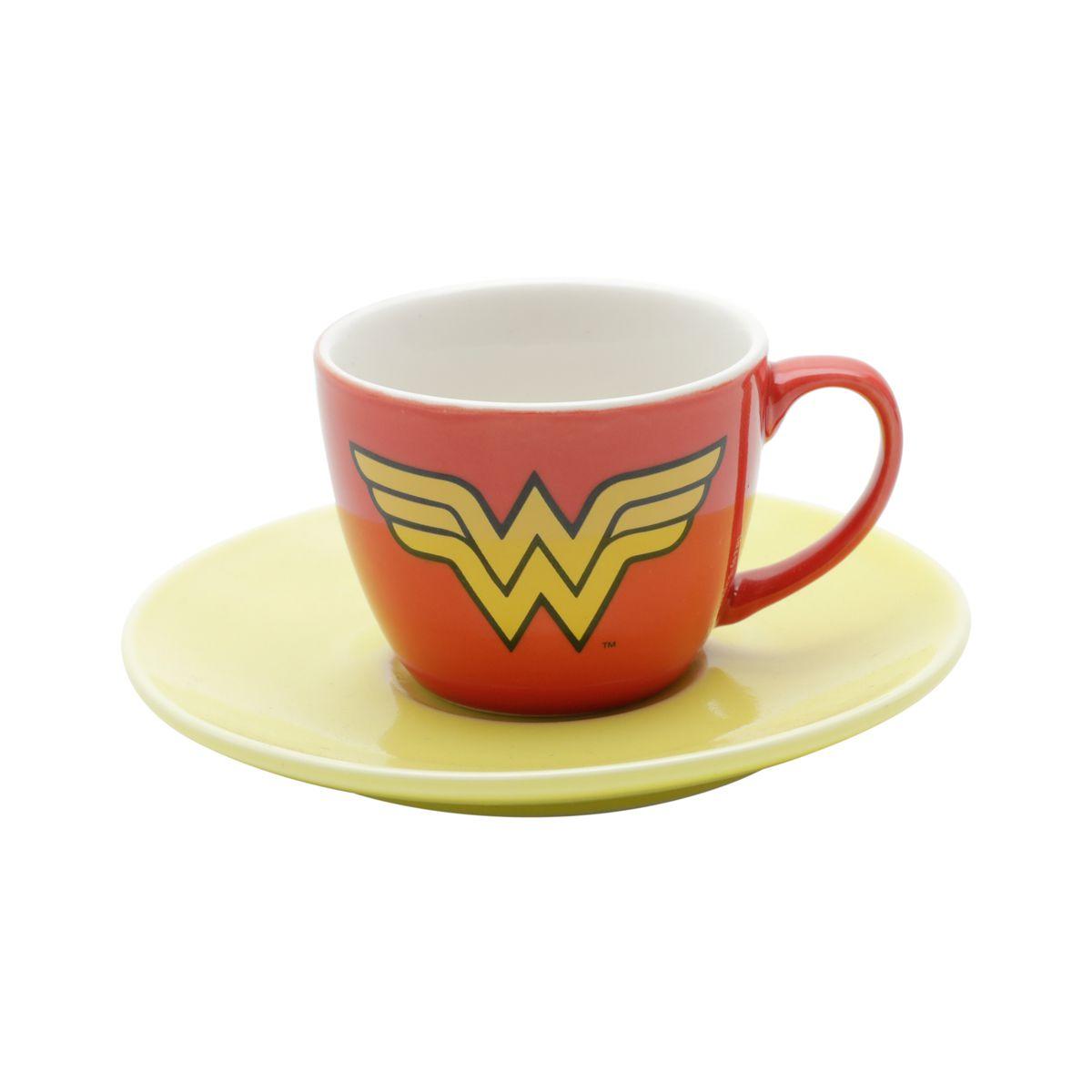 Kit Xícaras de Café Logo Heróis: DC Comics Liga da Justiça - URBAN
